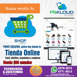 Tienda Virtual Pskloud Shop